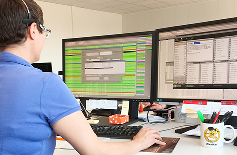RohrMax disponiert effizient vom Hauptsitz aus.